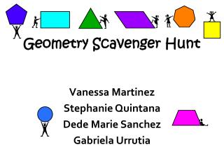 Geometry Scavenger Hunt