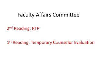 Probationary Faculty Powerpoint document