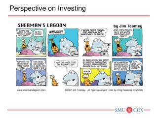 Perspective on Investing