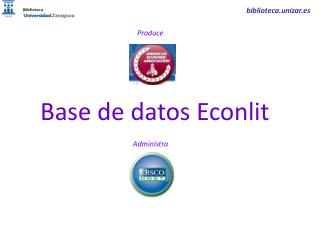 Base de datos  Econlit