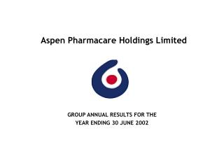 Aspen Pharmacare Holdings Limited