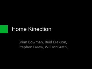 Home  Kinection