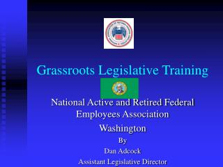 Grassroots Legislative Training