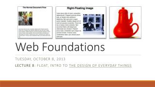 Web Foundations