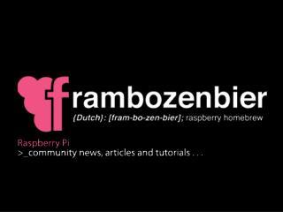 Datasheet 001 The Raspberry PI Foundation