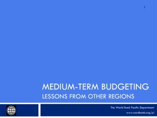 Medium-Term Budgeting Lessons from Other Regions