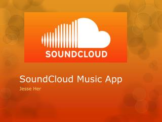 SoundCloud  Music App