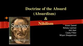 Doctrine of the Absurd (Absurdism) &  Nihilism