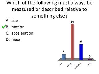 Which of the following must always be measured or described relative to something else?