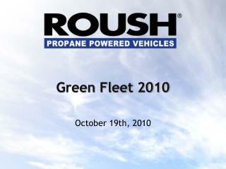 Green Fleet 2010