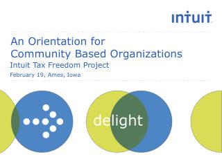 An Orientation for  Community Based Organizations
