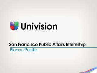 San Francisco Public Affairs Internship
