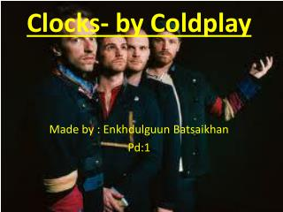 Clocks- by Coldplay