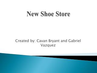 New Shoe Store
