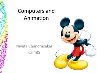 Computers and  Animation