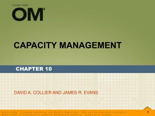 CAPACITY MANAGEMENT