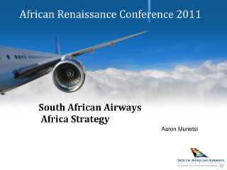 South African Airways  Africa Strategy