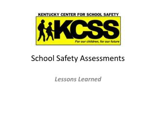School Safety Assessments