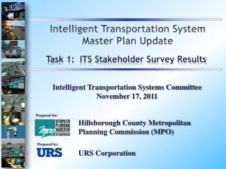 Intelligent Transportation System Master Plan Update