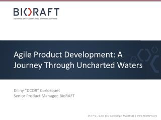 Agile Product Development: A Journey Through Uncharted Waters