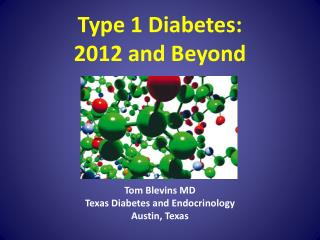 Type 1 Diabetes: 2012 and Beyond