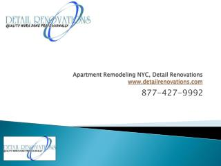 NYC Apartment Remodelers, Detail Renovations