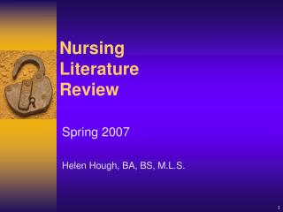 Nursing Literature Review