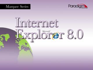 1.1 Understand Internet  Terminology 1.1 Open Internet  Explorer 1.1 Internet Explorer Window