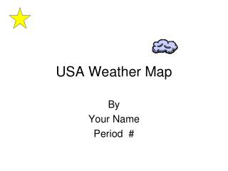 USA Weather Map