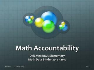 Math Accountability
