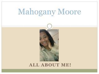 Mahogany Moore