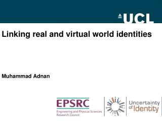 Linking real and virtual world identities