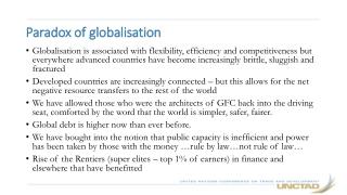 Paradox of globalisation