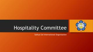Hospitality Committee
