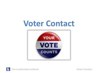 Voter  Contact