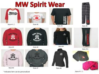 MW Spirit Wear