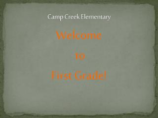 Camp Creek Elementary