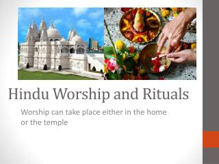 Hindu Worship and Rituals