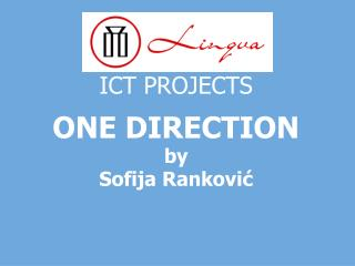ICT PROJECTS ONE DIRECTION by Sofija Ranković