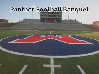 Panther Football Banquet