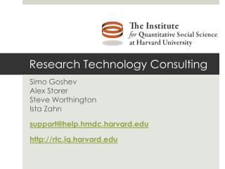Research Technology Consulting
