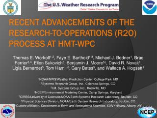 Recent Advancements of the Research-to-Operations (R2O) Process at HMT-WPC