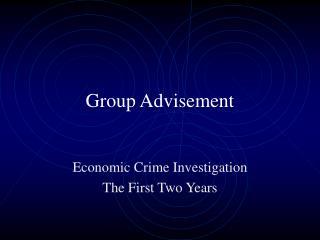 Group Advisement