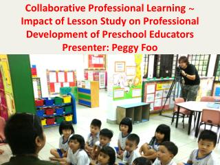 Collaborative Professional Learning  ~