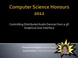 Computer Science Honours 2012