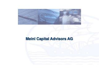 Meinl Capital Advisors AG