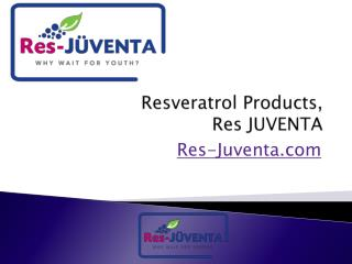Resveratrol Supplements, Res-Juventa