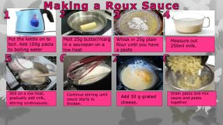Making a Roux  S auce