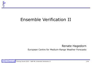 Ensemble Verification II