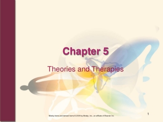 Theories of Counseling: Adlerian Theory
